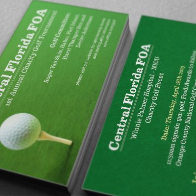 Central Florida FOA Business Cards