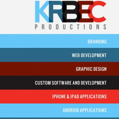 Krbec Productions Business Cards