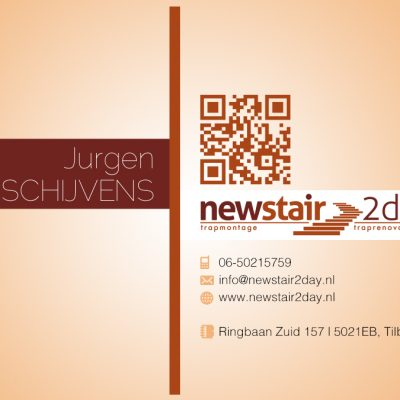 New Stair 2day Business Cards