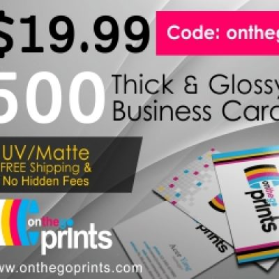 On The Go Prints Banners