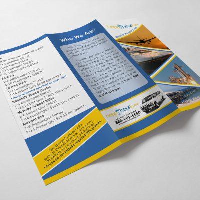 Happy Hour Shuttle Brochures