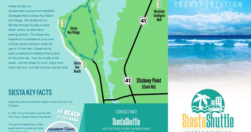 Siesta Shuttle Brochures
