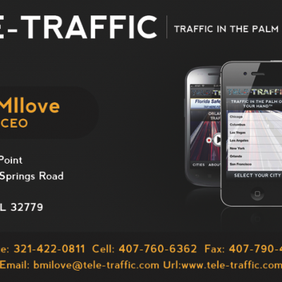 Tele-Traffic Business Cards