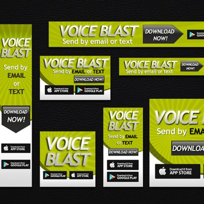 VoiceBlast Banners