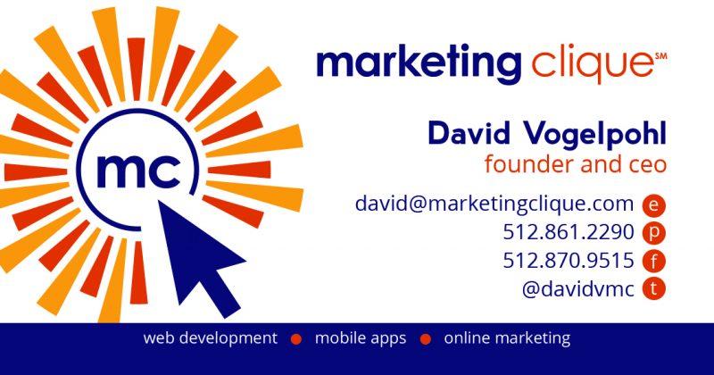 Marketing Clique Business Card