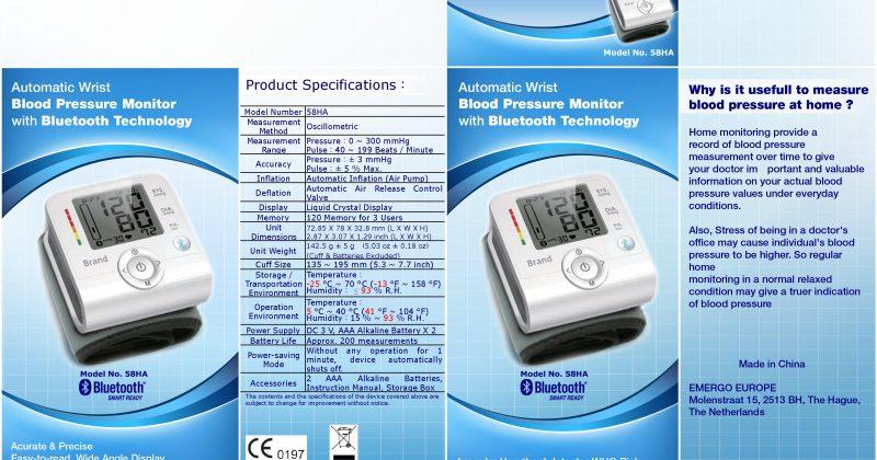Blood Pressure Packaging