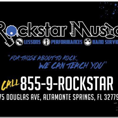 Rock Star Music Card
