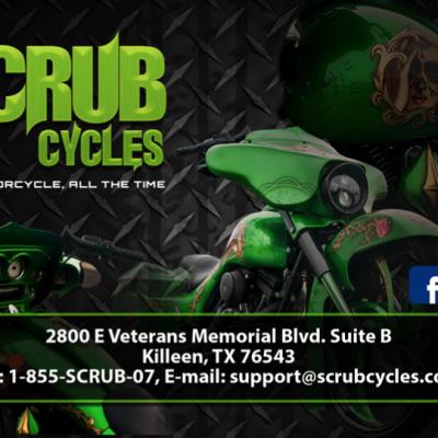 Scrub Cycles Flyer