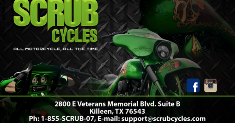 Scrub Cycles Flyer